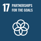 Icon of the Sustainable Development Goal 17 of the 2030 Agenda