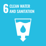 Icon of the Sustainable Development Goal 6 of the 2030 Agenda