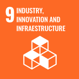 Icon of the Sustainable Development Goal 9 of the 2030 Agenda