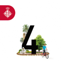 Map Barcelona + Sustainable app icon