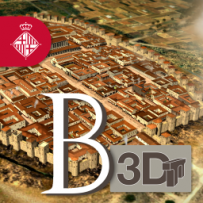 Barcino 3D app icon