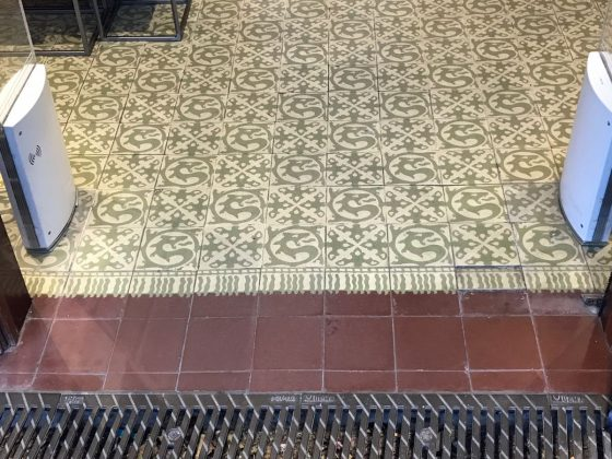 mosaïques de Barcelone - ramblas