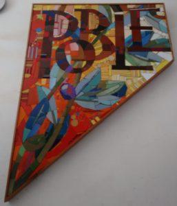 Fragment del mosaic no col·locat, col·lecció Armand Olivé Milian