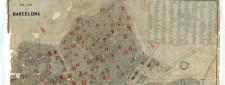 Plano topográfico-geometrico de la ciudad de Barcelona. Poyecto de reforma general. Miquel Garriga Roca.1868