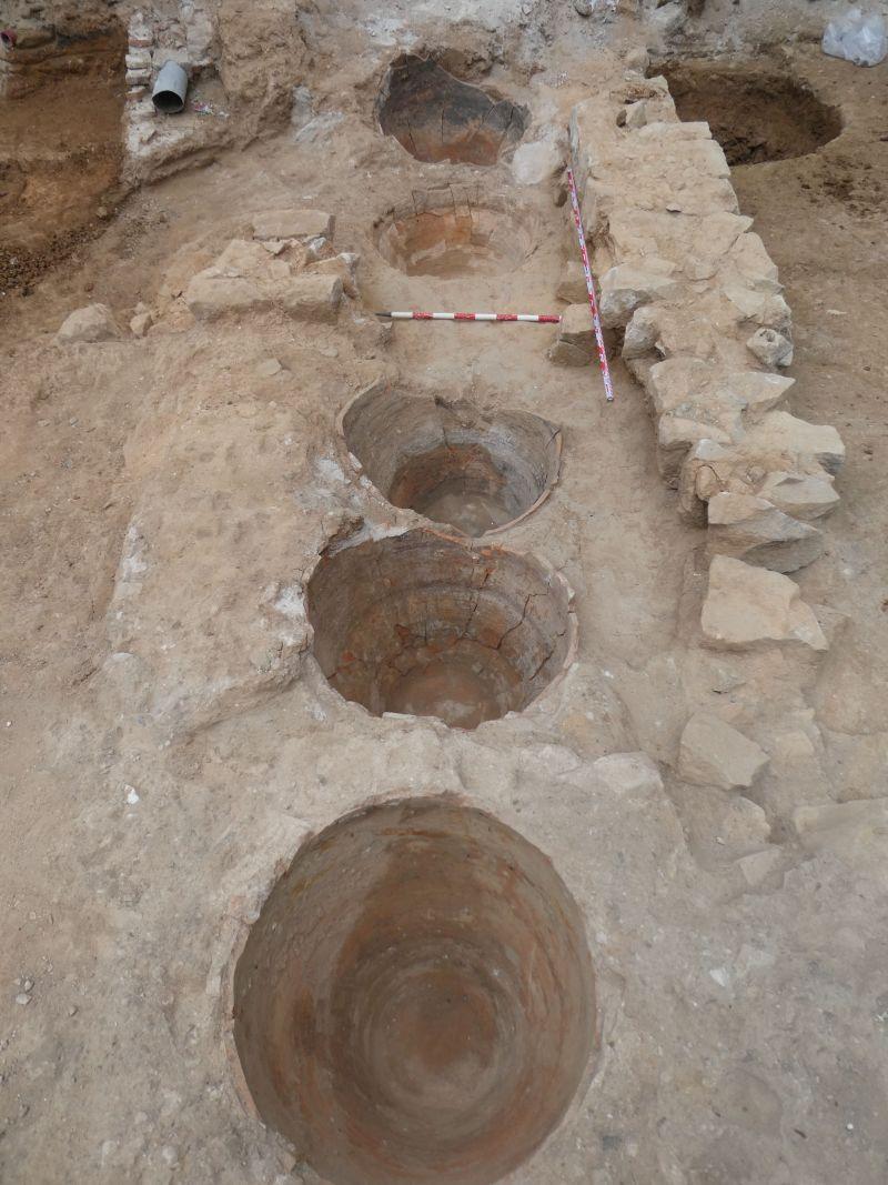 Conjunt de tenalles soterrades de finals del segle XVII-XVIII