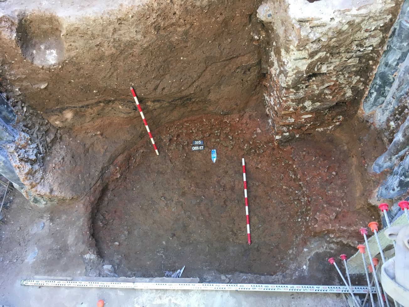 Retalls indeterminats datats entre els segles IX i X. Foto: Joan Piera