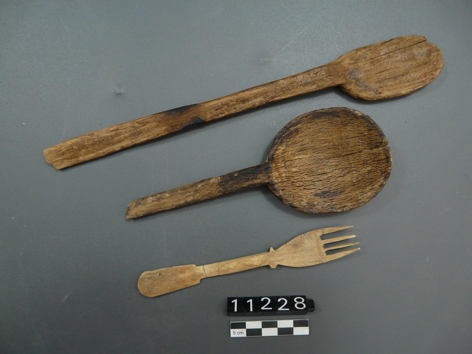 Culleres i forquilla liofilitzades i consolidades. Foto: SABCN