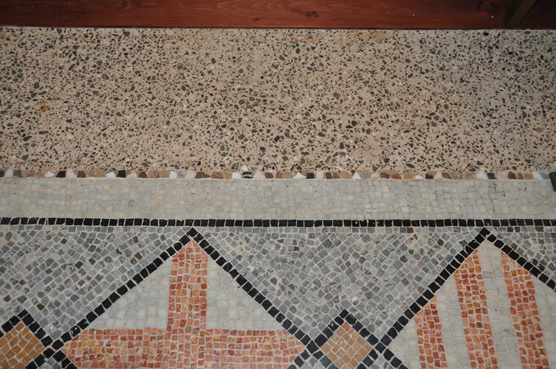 8. RACAB, resultat final de la nova franja perimetral de terratzo (Foto: Servei d'Arqueologia)