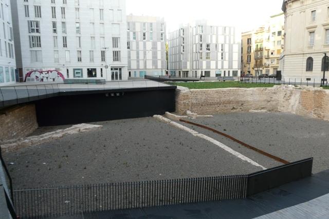 Vista general després de la intervenció(foto: Servei d'Arqueologia).