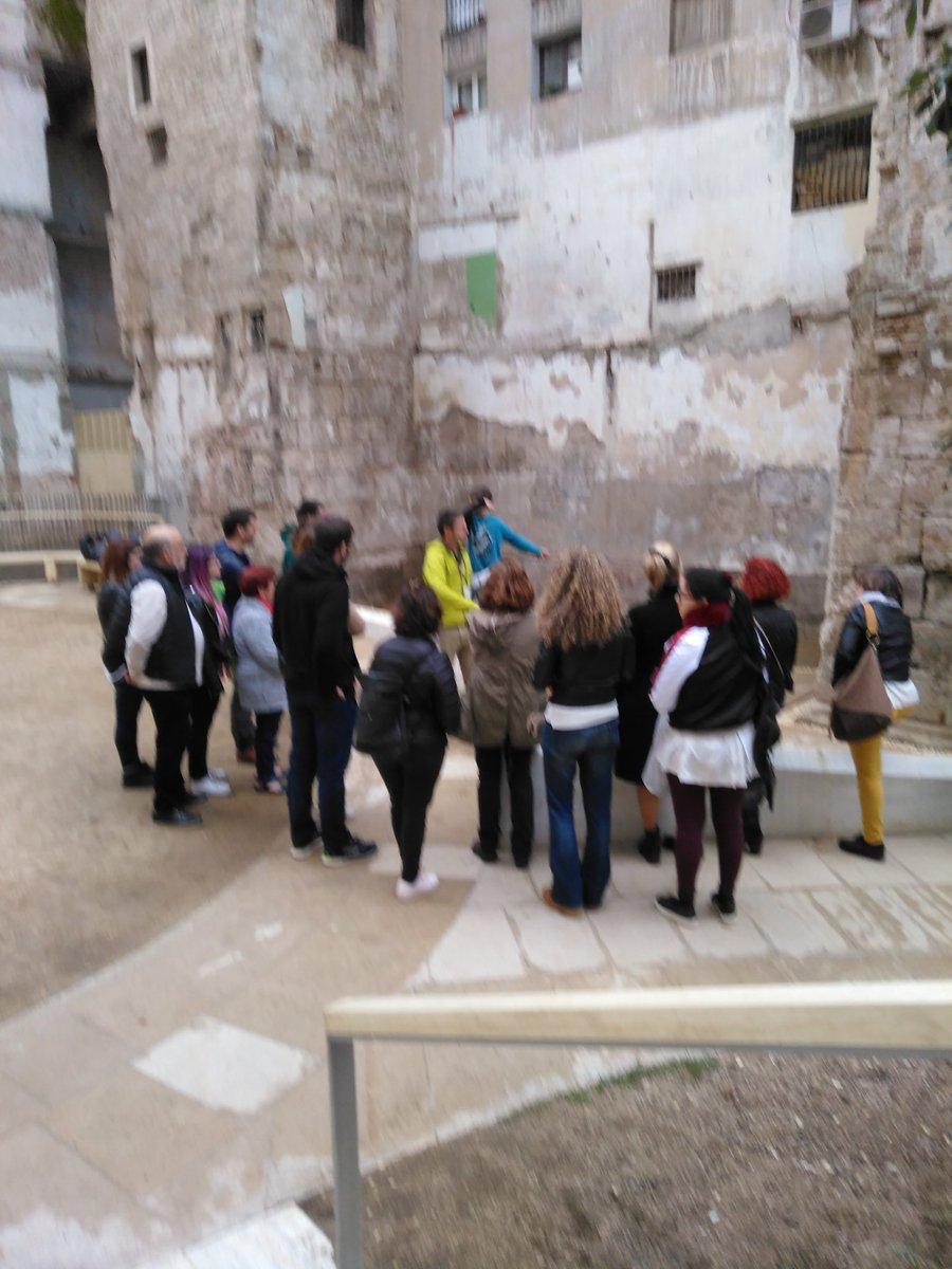 Muralla romana, Sotstinent Navarro. Nit dels museus 2019