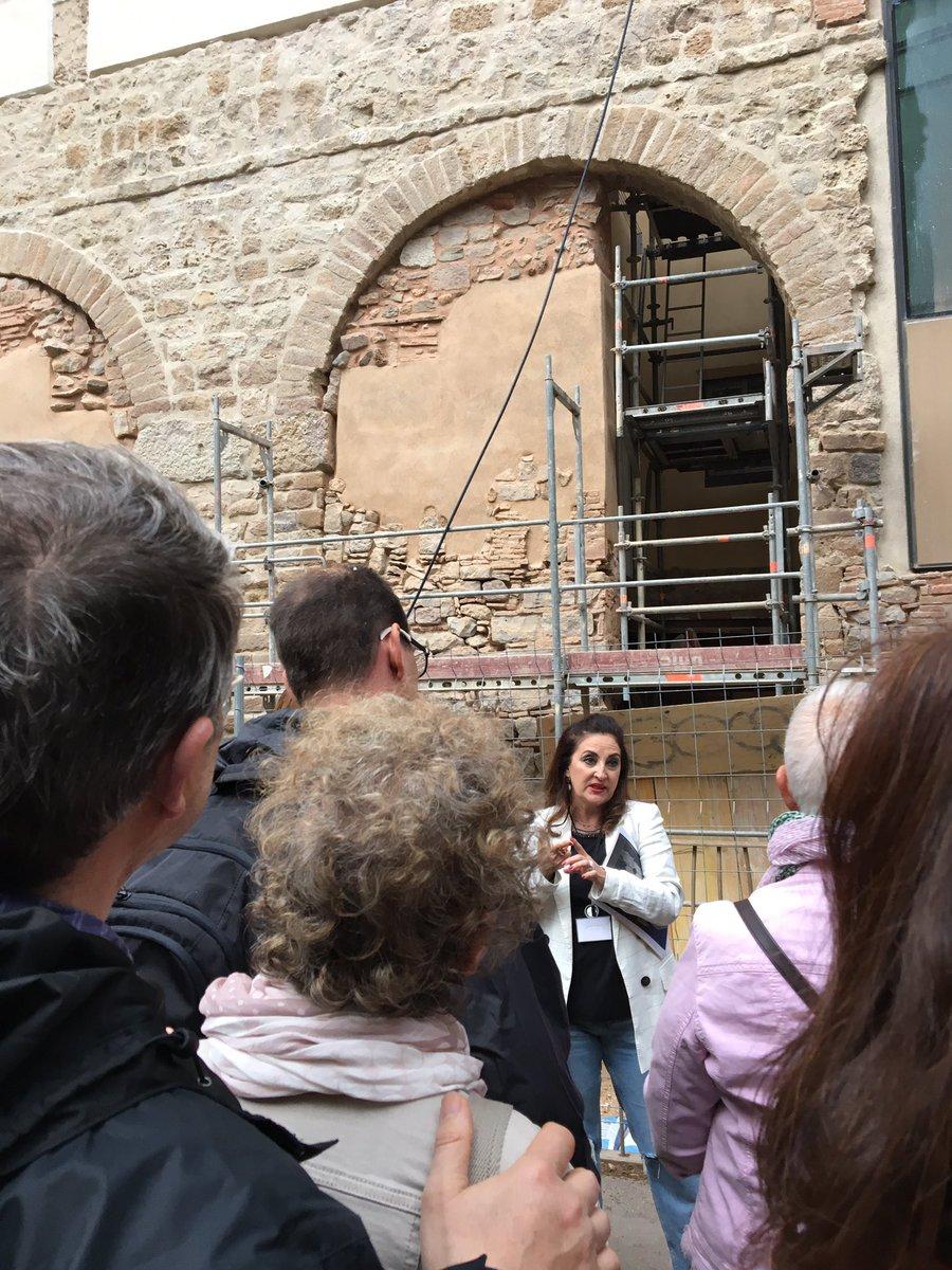Aqüeducte romà. Plaça del Vuit de Març. Nit dels Museus 2019