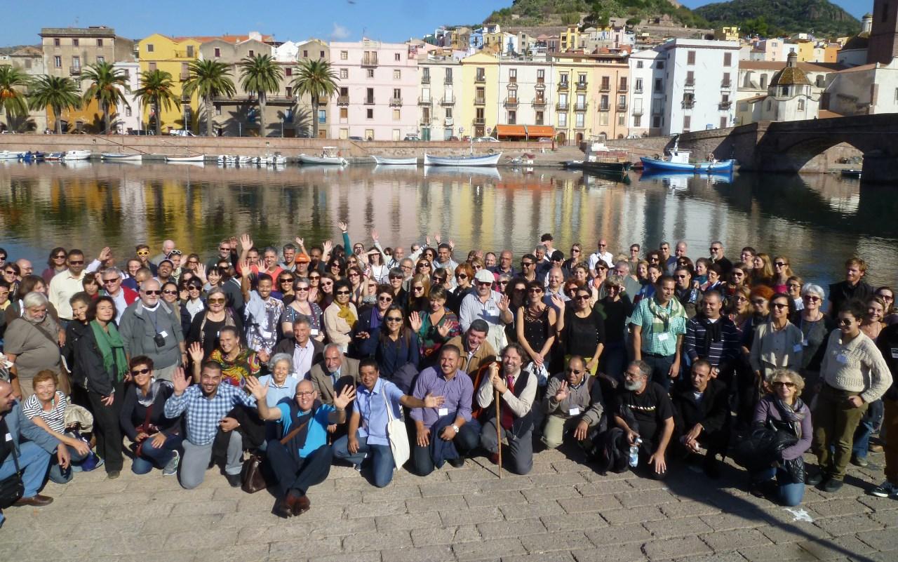 XIIè Congrés de Conservació de Mosaics organitzat per l'ICCM, Sardenya de 2014. Foto: ICCM.