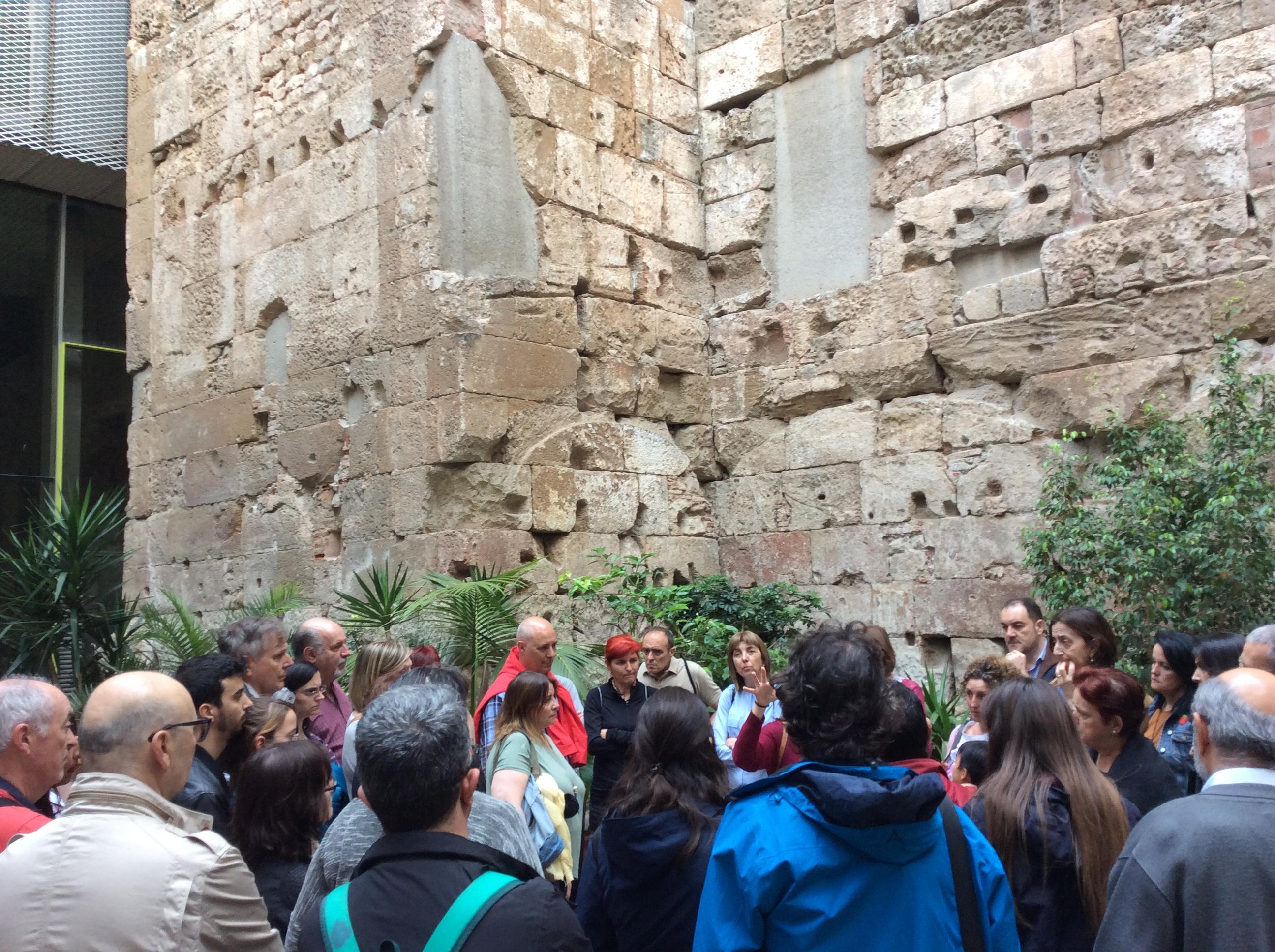 Muralla romana. Carrer Correu Vell