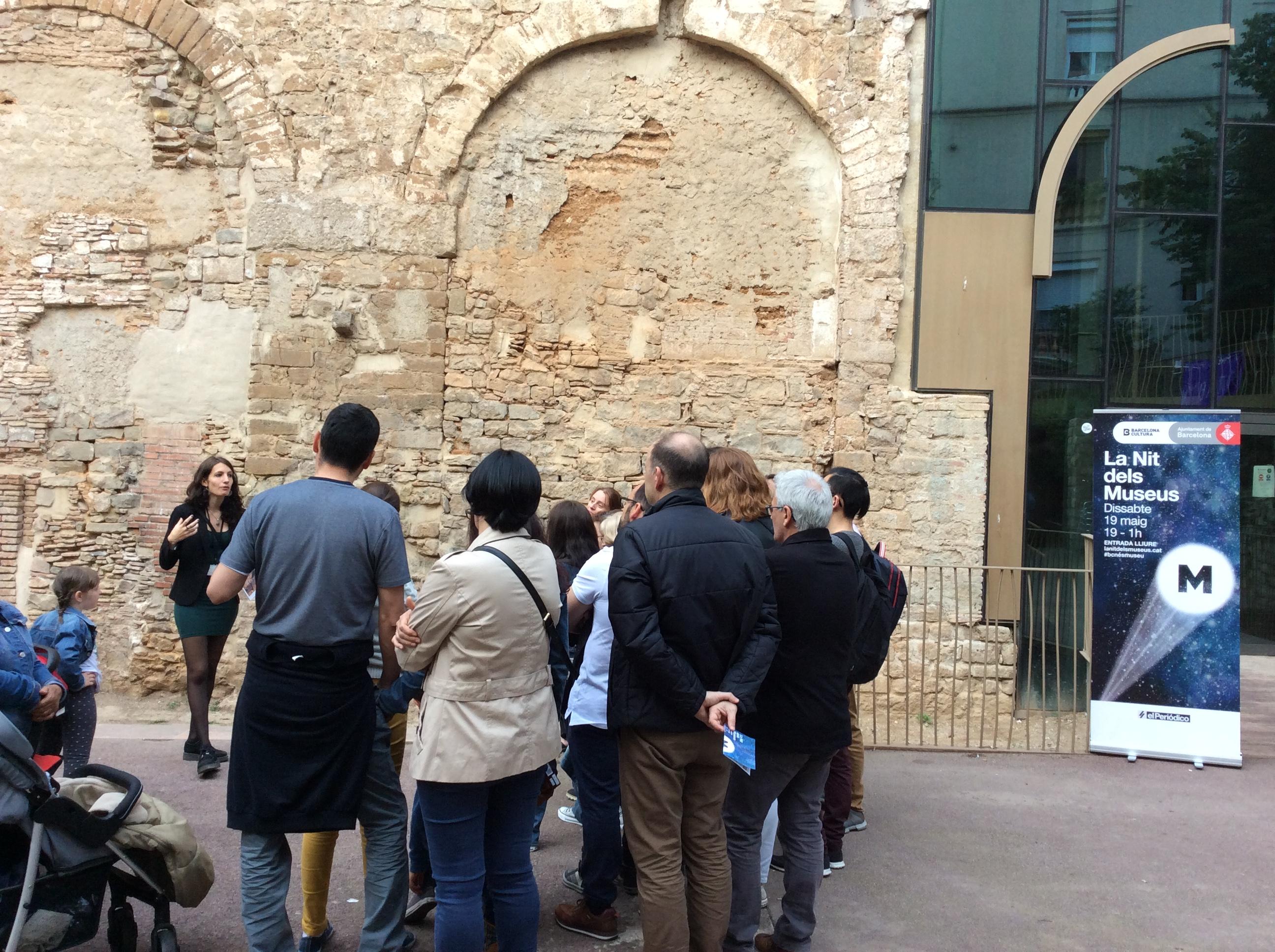 Aqüeducte romà. Plaça Vuit de Març