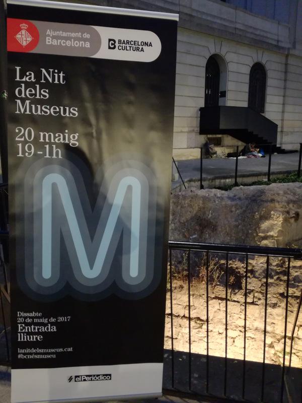 Nit dels Museus 2017. Baluard de Migdia