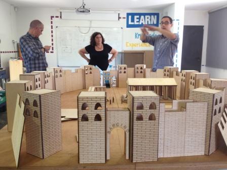 FabLab@School sobre la ciutat romana de Bàrcino