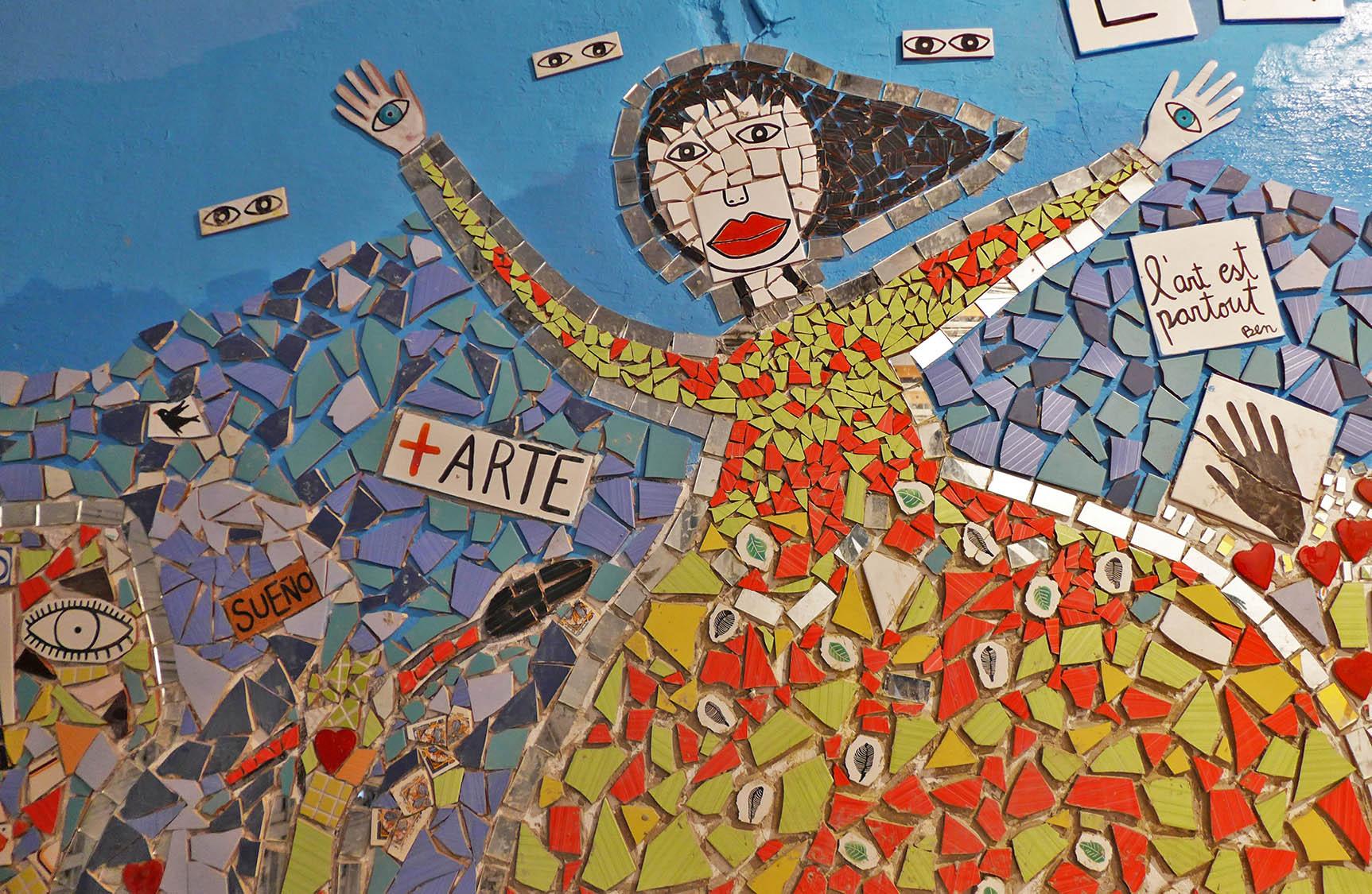 Mosaic a La Escocesa