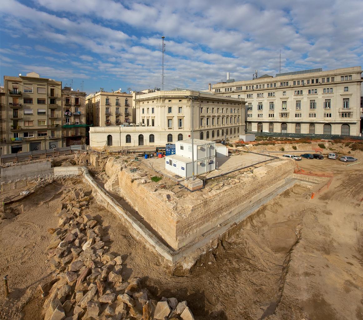 Baluard del Migdia, intervenció 2006. Foto: Pere Vivas