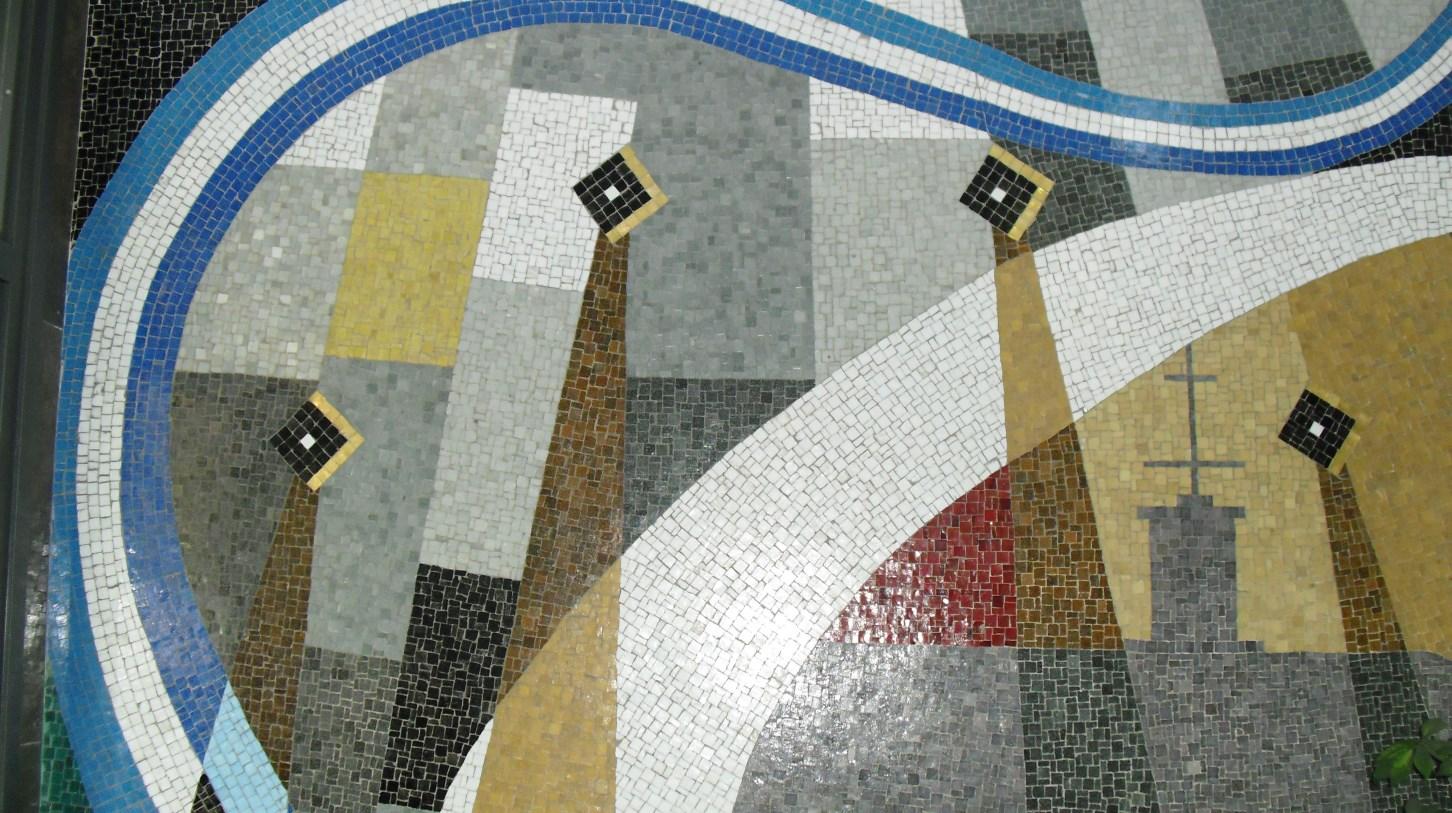 Tessel·la, carrer de Rosselló, 431 (Foto: E. Moreno)