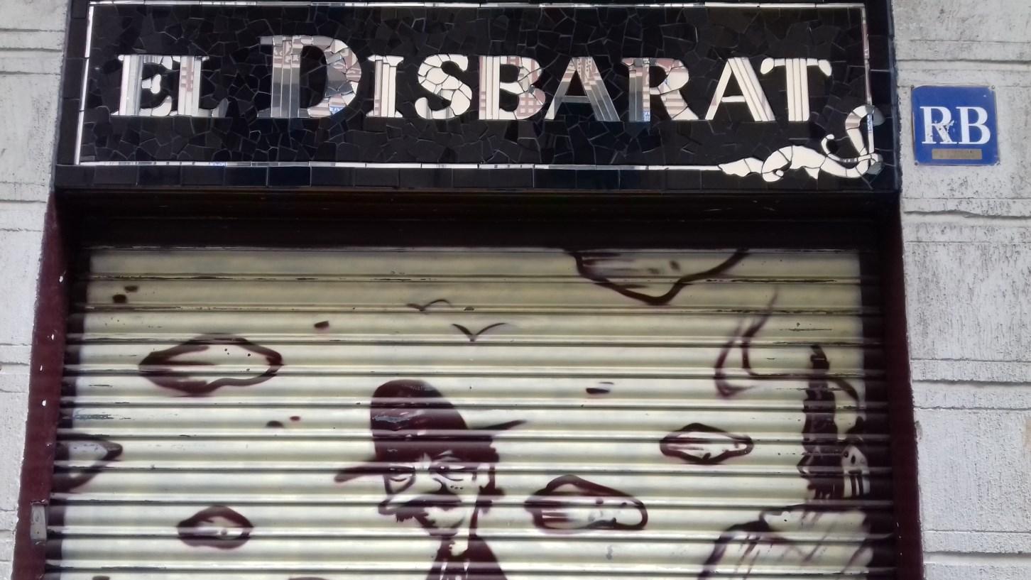 Trencadís, carrer de Montseny, 14 (Foto: anònim)
