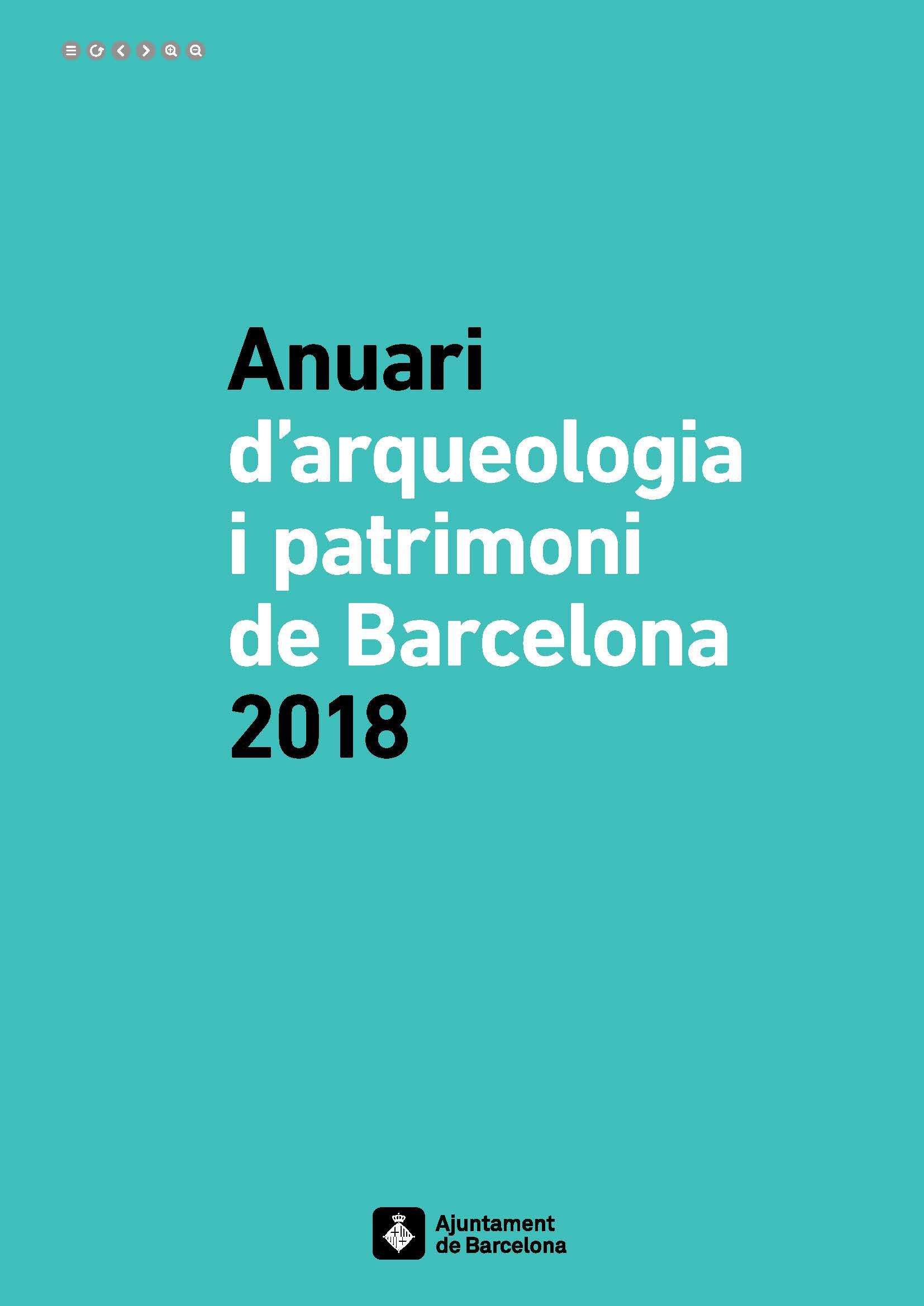 Anuari d'Arqueologia i Patrimoni de Barcelona 2018