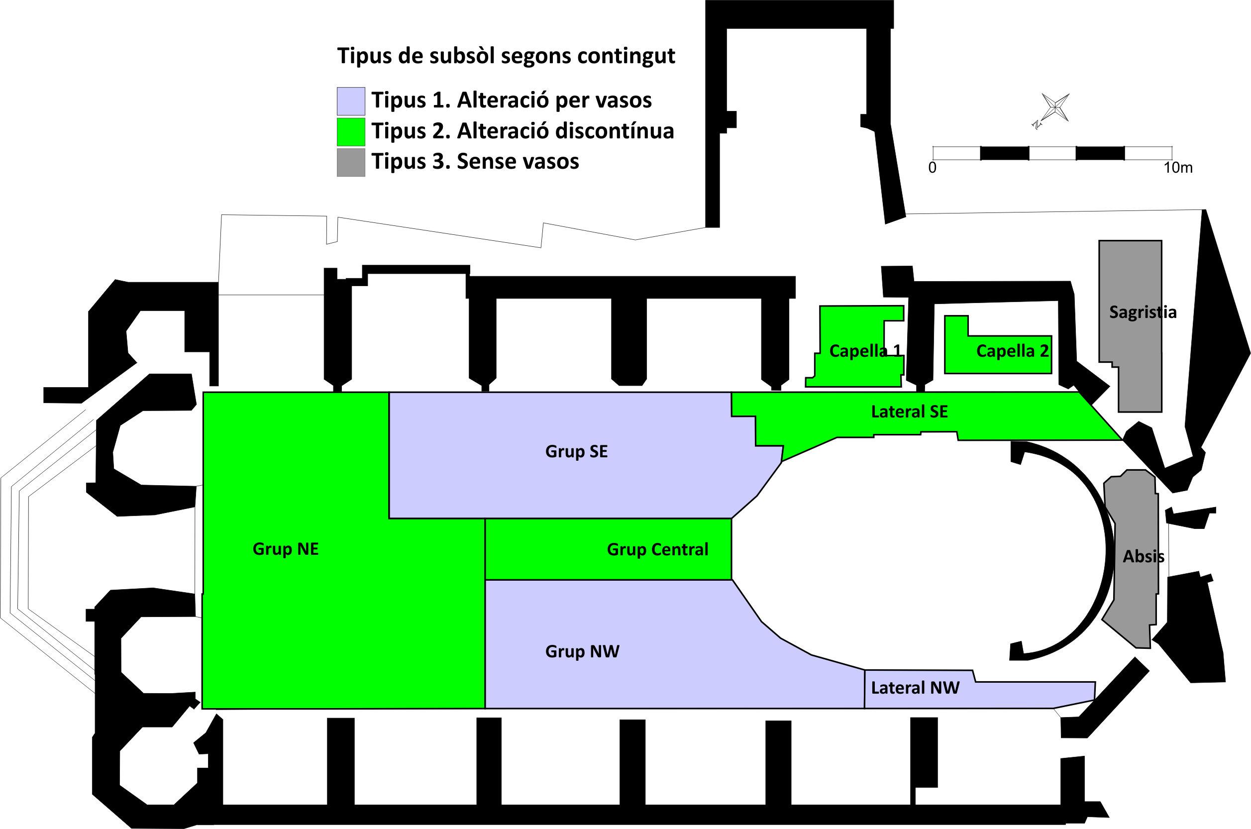 Prospecció geofísica basílica Sant Just