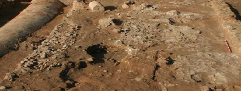 veure Treballs de conservació in situ a la vil·la romana del Pont del Treball Digne>