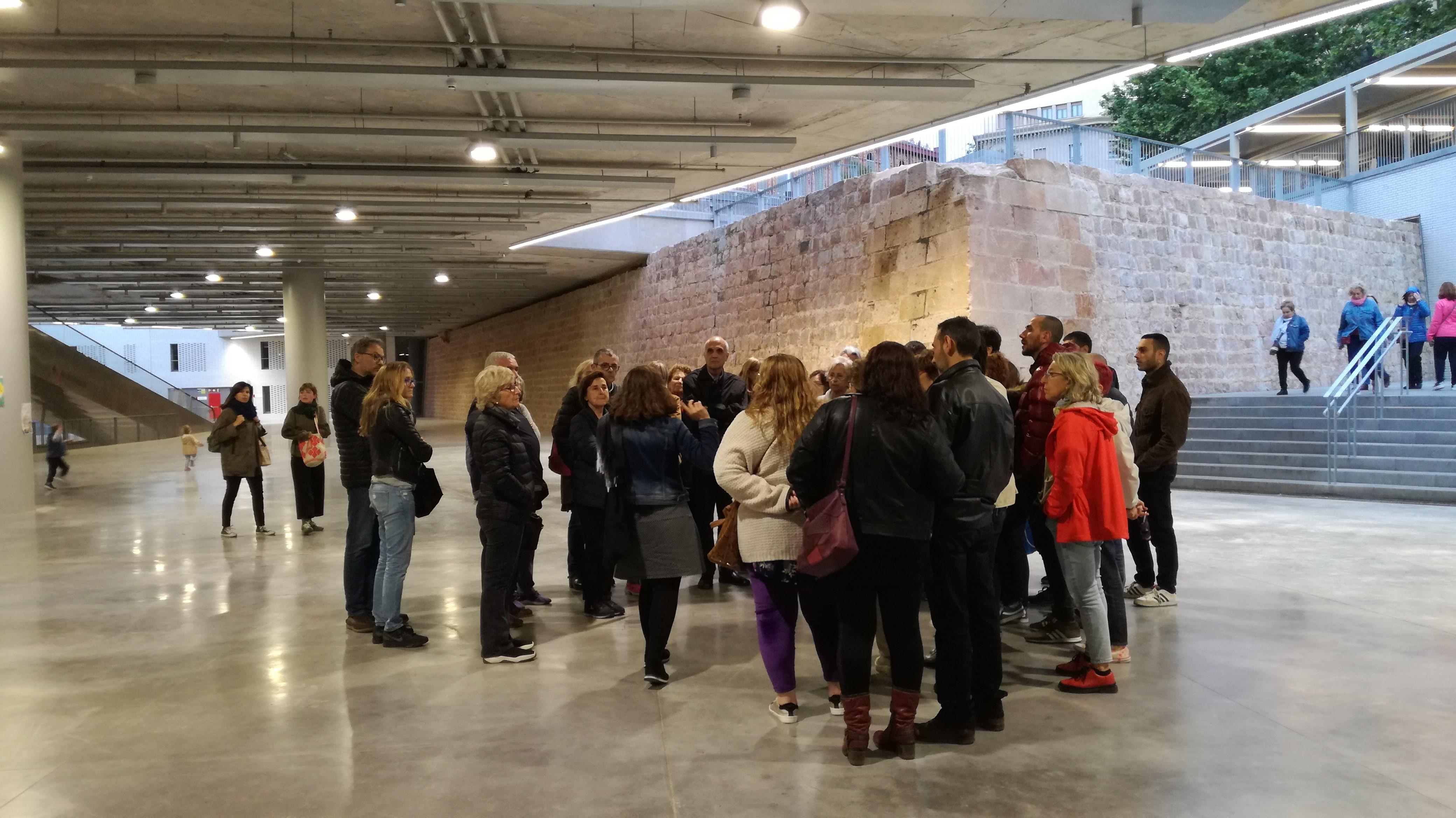 Mercat de Sant Antoni. Baluard. Nit dels museus 2019