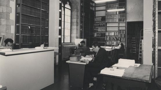 Sala de consulta de l'Arxiu