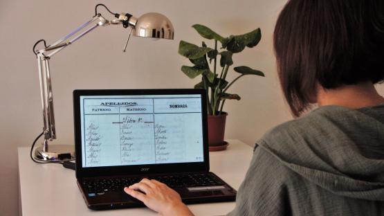 Consulta on line del catálogo  de documentos