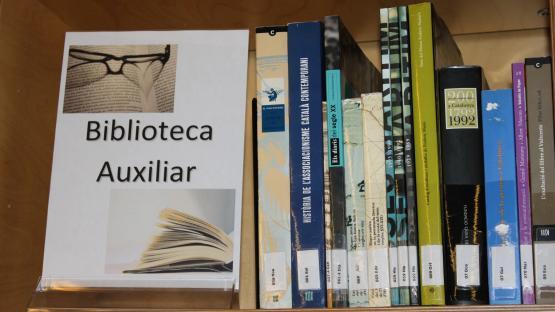 Espai de la biblioteca auxiliar