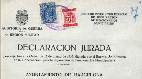 Documents on political retaliation