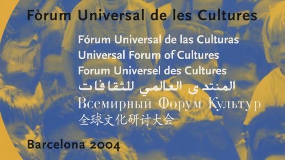 Document principal de promoció del Fòrum de les Cultures 2004