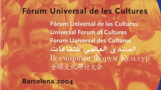 Catàleg promocional del Fòrum de les Cultures 2004