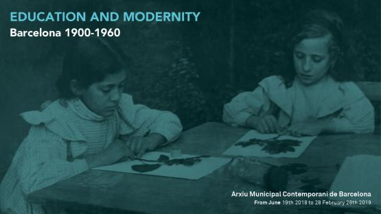 """Image 14th Document Exhibition: """"EDUCATION AND MODERNITY. Barcelona 1900-1960"""""""