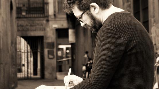 Picture of the illustrator Sagar Forniés