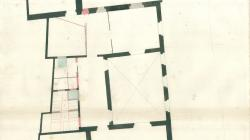Plan of the floor plans on Carrer Templaris.