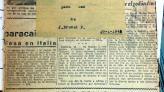 Llibreta a net folrada amb paper de diari d'un alumne.