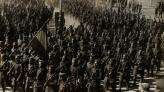 Desfile de los cuerpos del ejército por las calles de Barcelona, 21 de febrero de 1939. Autor Pérez de Rozas. AMCB. Fons Ajuntament de Barcelona: B101 Actes protocol•laris, exp. 5 de 1939.