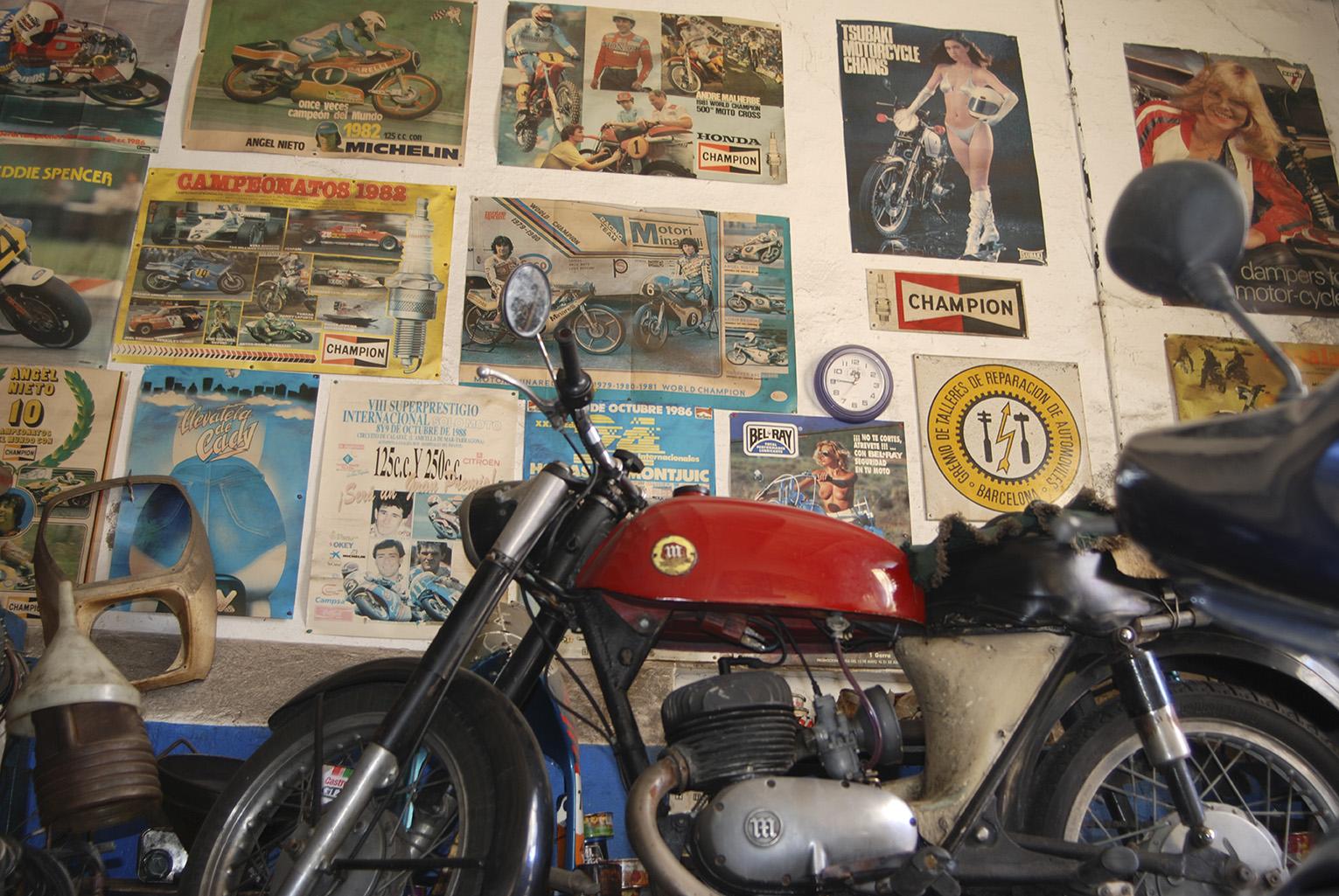 Taller de motos Mestres