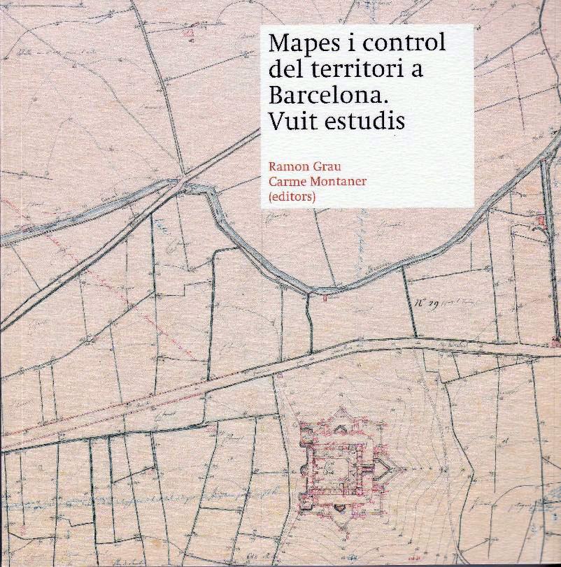 Coberta de la publicació Mapes i control del territori. Vuit estudis