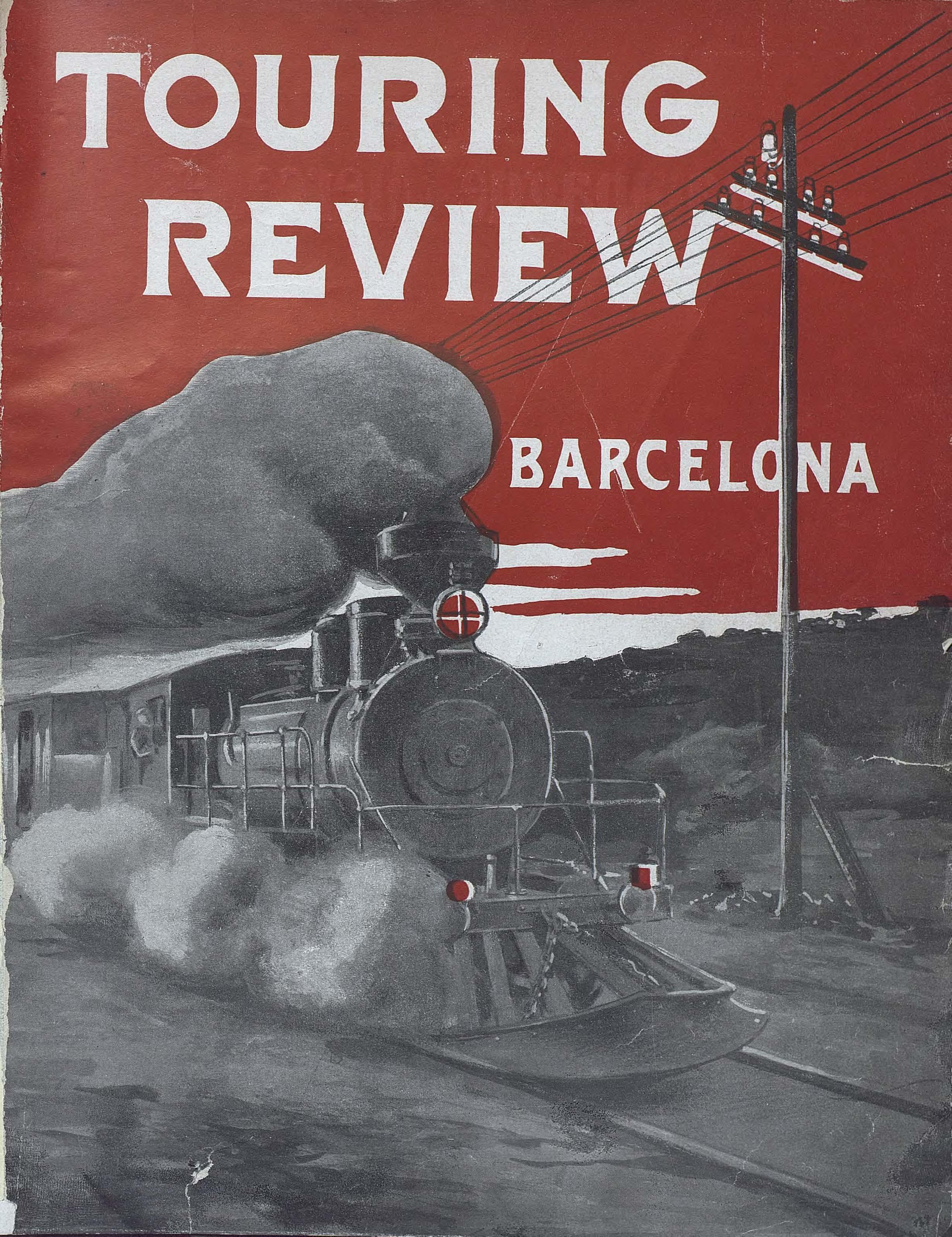 AHCB,  Periodicals Library, Touring review Barcelona, December 1910