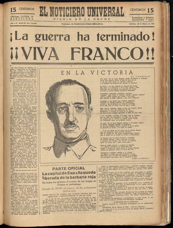 Imatge de El Noticiero Universal, 19-1-1939.