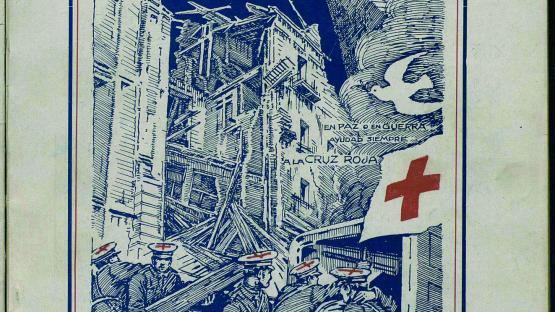 Boletín oficial de la Brigada no. 1 de la Cruz Roja. Núm. 225 (1 octubre 1938) portada