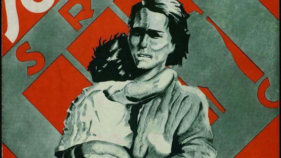 Solidaritat: portantveu mensual del Comitè local dels Socors Roig Internacional. Núm. 2 (1 agost 1937) portada
