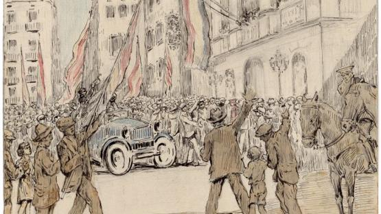 Una tarde del 14 de abril de 1931