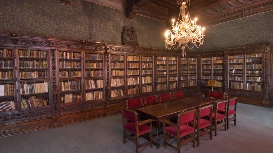 Fotografia de la Sala Dalmases de l'Arxiu Històric de la Ciutat de Barcelona