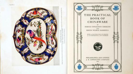 Làmina 1 de The practical Book of Chinaware de Harold Ronaldson Eberlin