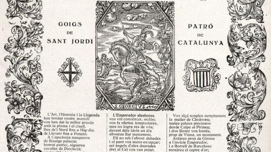 Goig de Sant Jordi d'Artur Masriera