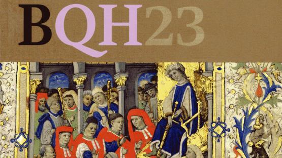Detall de la portada de la publicació Barcelona Quaderns d'Història número 23